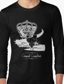 Criminal Consultant Long Sleeve T-Shirt