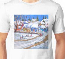 The Village Rink Unisex T-Shirt