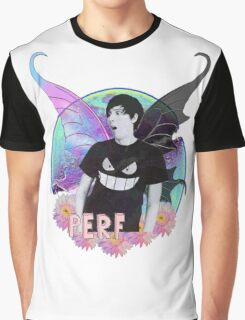 Phil Lester Colourful Butterfly Edit Graphic T-Shirt