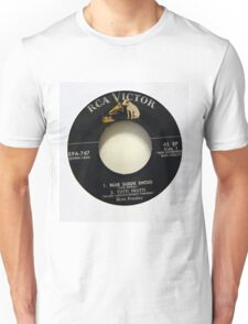 Elvis Presley  EP label Blue Suede Shoes Rockabilly Unisex T-Shirt