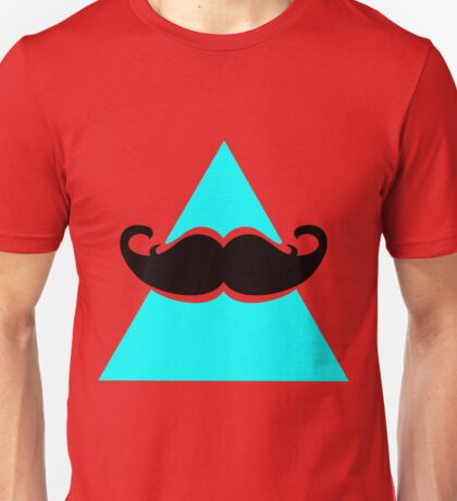 Hipster Triangle Unisex T-Shirt