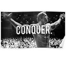 Arnold Schwarzenegger - CONQUER Poster