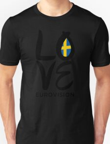 LOVE Eurovision [Sweden] T-Shirt