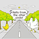 Why Did the Chicken Cross the Road? by Lili Batista