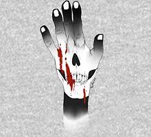 bloodly skull Unisex T-Shirt