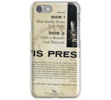 Elvis Presley  EP Blue Suede Shoes Rockabilly back cover iPhone Case/Skin