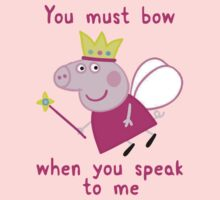 Princess Peppa Pig - Must Bow to Me One Piece - Long Sleeve