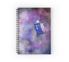 Galaxy TARDIS Spiral Notebook