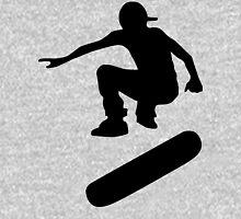 skateboard : silhouettes (LARGE) Unisex T-Shirt