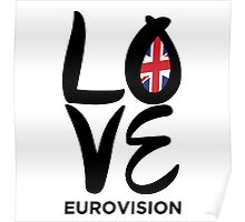 LOVE Eurovision [United Kingdom] Poster