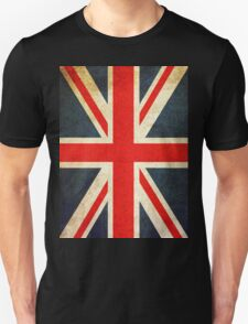 Vintage Union Jack British Flag Unisex T-Shirt