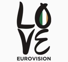 LOVE Eurovision [Ireland] Baby Tee
