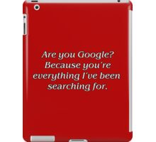 Google Search iPad Case/Skin