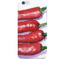 Red Hot Chilis iPhone Case/Skin