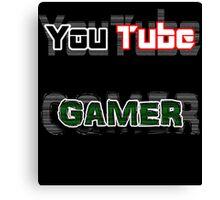 YouTube GAMER Canvas Print
