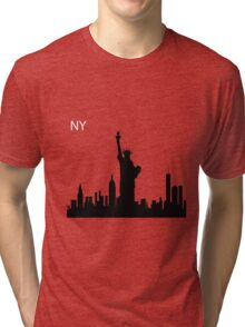 New York Statue of Liberty Tri-blend T-Shirt