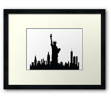 New York Statue of Liberty Framed Print