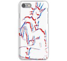 3d skateboard punk iPhone Case/Skin