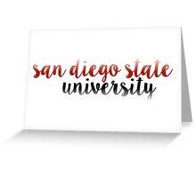 San Diego State - SDSU Greeting Card