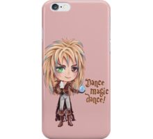 David Bowie Dance Magic Dance Labyrinth Chibi iPhone Case/Skin