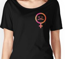 S A D  G I R L Women's Relaxed Fit T-Shirt