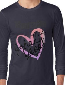Future Mrs. Johnny Depp Long Sleeve T-Shirt