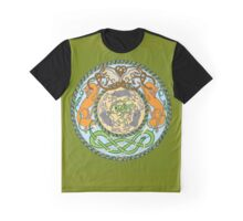 Fox, Cats, Snakes and Mice Graphic T-Shirt
