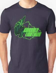 Monster Hunter All Stars - Emerald Lightning Unisex T-Shirt