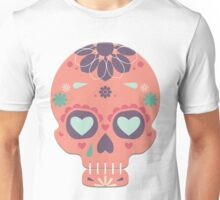 Skull Candy Pink Unisex T-Shirt