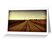 Countryside Road Greeting Card