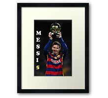 MESSI Fifa World Cup Framed Print