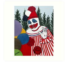 Pogo The Clown Art Print