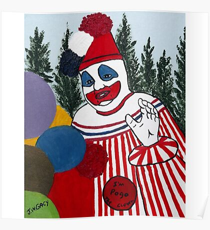 Pogo The Clown Poster