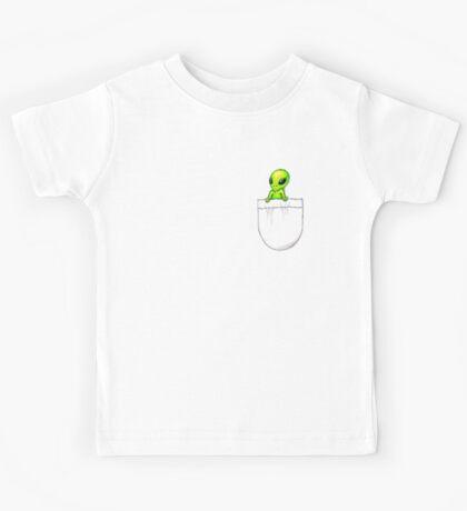 Little Buddy Alien Pocket Kids Tee