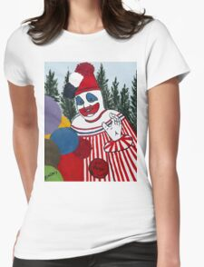 Pogo The Clown Womens Fitted T-Shirt