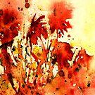 Splash of Red... by Robin Monroe