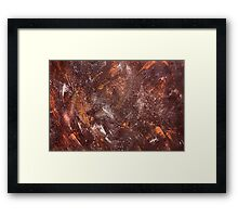 The Red Painting Framed Print