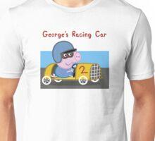 George's Racing Car - Peppa Pig Unisex T-Shirt