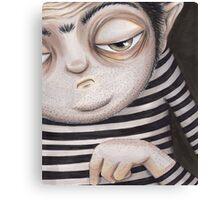 Allen Kazam  - Close-up Canvas Print