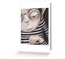 Allen Kazam  - Close-up Greeting Card