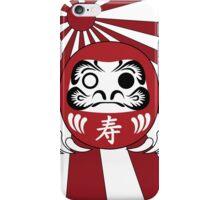 Daruma, Minimalist Style iPhone Case/Skin
