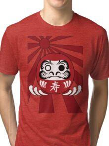 Daruma, Minimalist Style Tri-blend T-Shirt