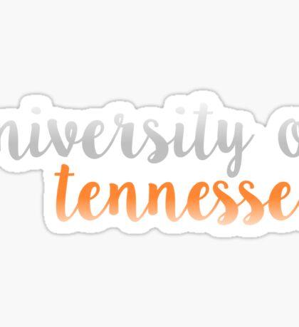 University of Tennessee Sticker
