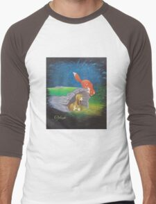 Fox and the Hound Men's Baseball ¾ T-Shirt