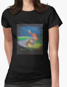 Fox and the Hound Womens Fitted T-Shirt