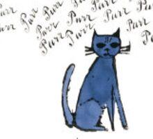 Andy Warhol Cat Sticker