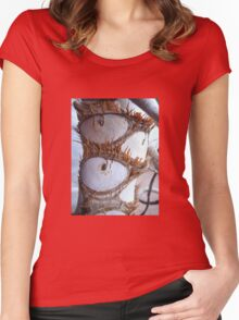 The Eyes of Nature  Women's Fitted Scoop T-Shirt