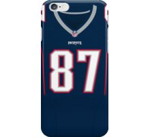 New England Patriots Rob Gronkowski Color Jersey iPhone Case/Skin