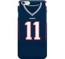 New England Patriots Julian Edelman Color Jersey iPhone Case/Skin