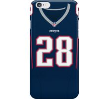 New England Patriots James White Color Jersey iPhone Case/Skin